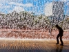 Oktober: Dagmar Kunz, Wasservorhang
