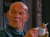 Robert Heitzer, Stammgast raucht Kaffee