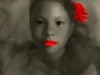Robert Heitzer, Roter Mund und rote Rose