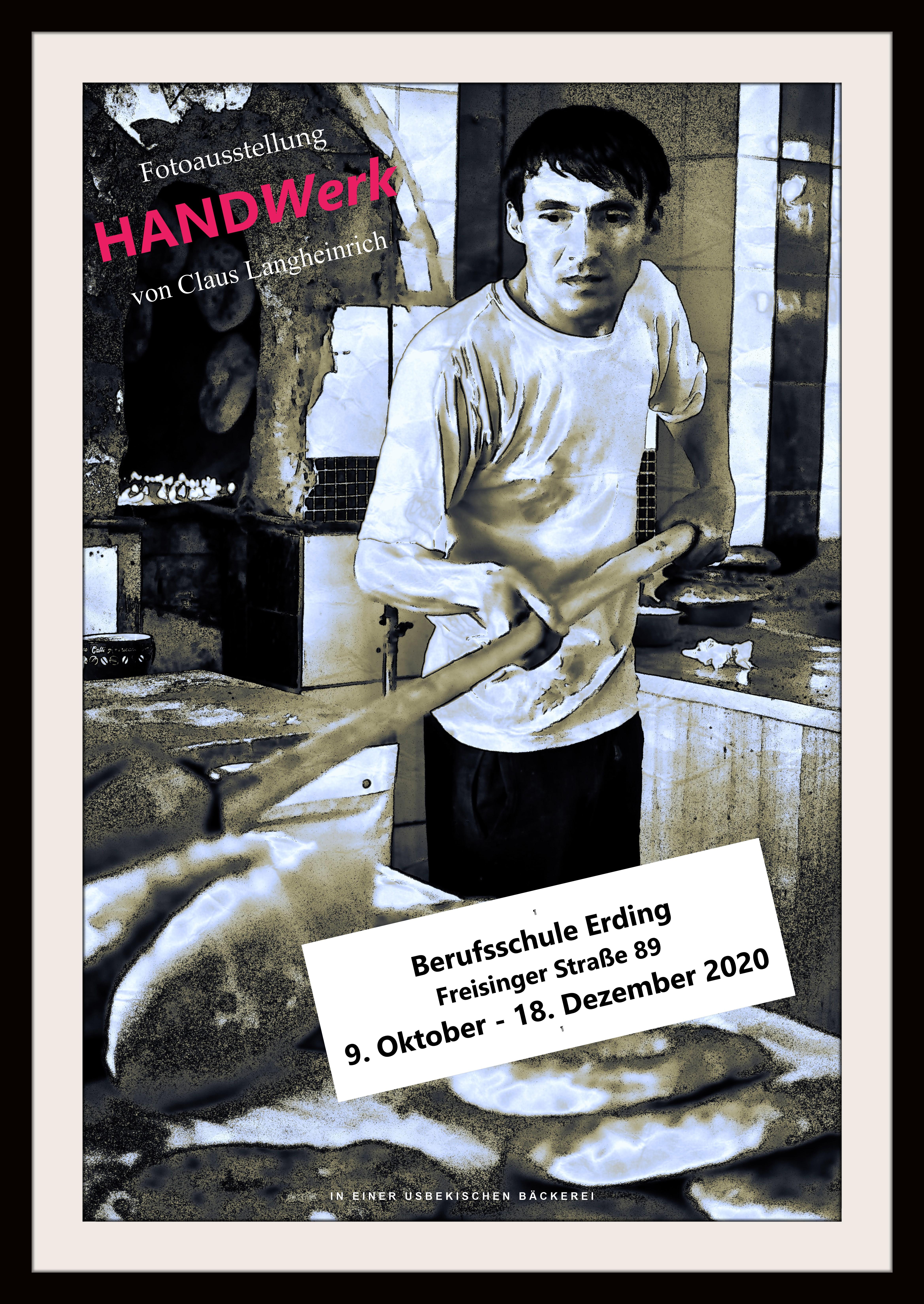 HANDwerk (36 Fotos in Farbe und Schwarzweiß); Claus Langheinrich @ Verwaltungstrakt der Berufsschule Erding
