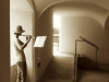 Februar: Friedel Reif, Flötenspielerin