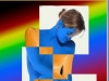 Juli: Hans-Jürgen Fess, Blue Lady in Color
