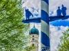 Mai: Günther Keil - Durchblick auf St. Margret